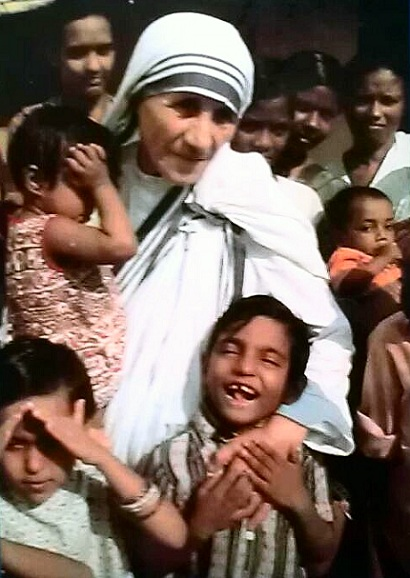 Mother Teresa and her children