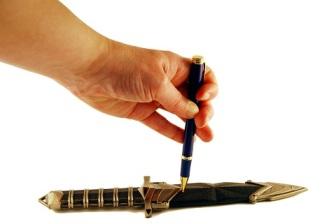 Pen Mightier than Sword