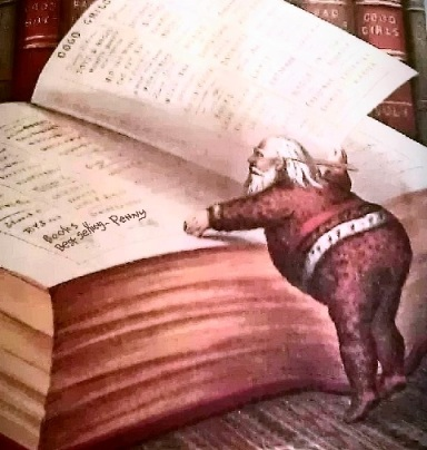 Photo taken of an illustration in a 100+ year old book! I added the rest, lol! Penny L. Howe, 2013