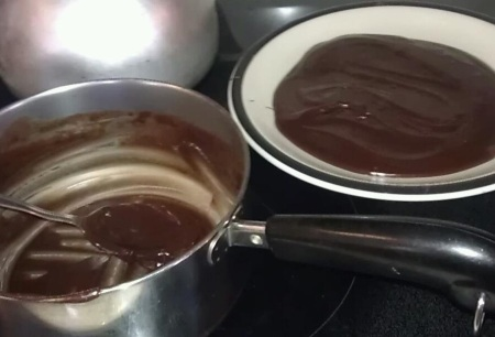 making fudge